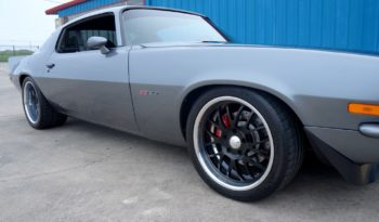1973 Chevrolet Camaro Z28 Resto Mod LSX – Charcoal Gray / Black full