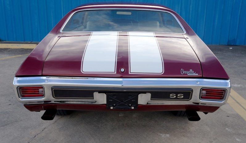 1970 Chevrolet Chevelle SS454 – Burgundy Metallic / White full