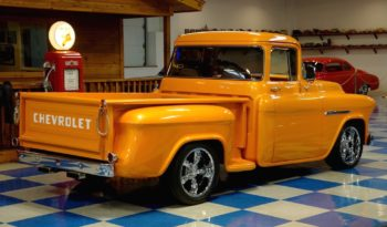 1956 Chevrolet 3100 Big Window Pickup – Lamborghini Arancio Borealis Pearl full