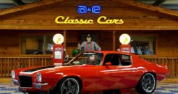 1972 Chevrolet Camaro Pro Touring LS Supercharged – Victory Red / Black / White