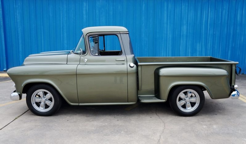 1957 Chevrolet 3100 Pickup – Olive Green Metallic / Meteor Gray full