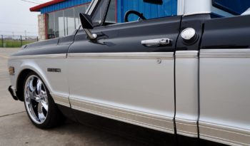 1971 Chevrolet C10 Cheyenne Pickup – Black / Silver full