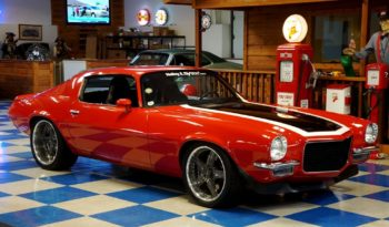 1972 Chevrolet Camaro Pro Touring LS Supercharged – Victory Red / Black / White full