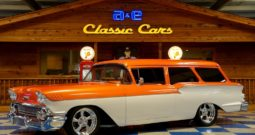 1958 Chevrolet Yeoman Wagon LT1 – Orange / Beige