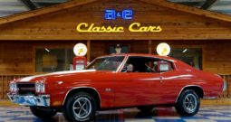 1970 Chevrolet Chevelle SS396 – Red / White