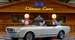 "1966 Ford Mustang ""A Code"" Coupe – Silver / Black"
