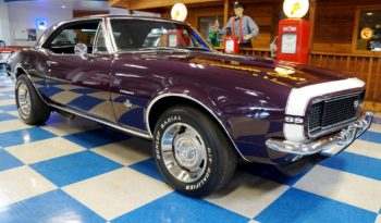1967 Chevrolet Camaro – Plum / White full