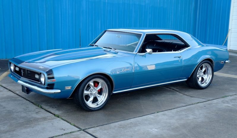 1968 Chevrolet Camaro LS Resto Mod – LeMans Blue / Black full