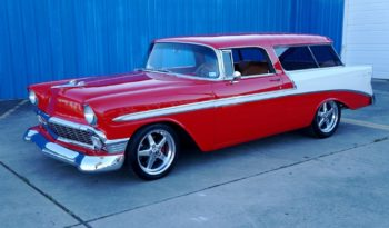 1956 Chevrolet Nomad Wagon LS3 Resto Mod – Red / White full