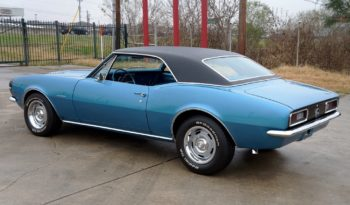 1967 Chevrolet Camaro SS350- Marina Blue / Black full