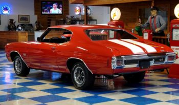1970 Chevrolet Chevelle SS396 – Red / White full