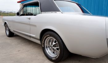 "1966 Ford Mustang ""A Code"" Coupe – Silver / Black full"