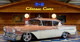 1958 Chevrolet Bel Air – Coral / White