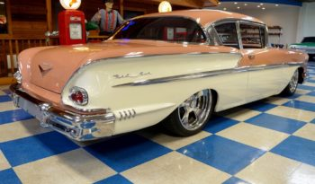 1958 Chevrolet Bel Air – Coral / White full