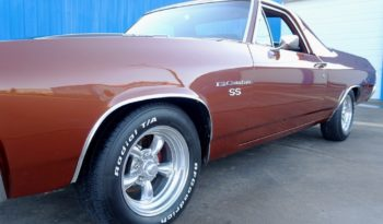1971 Chevrolet El Camino – Burnt Orange / Black full