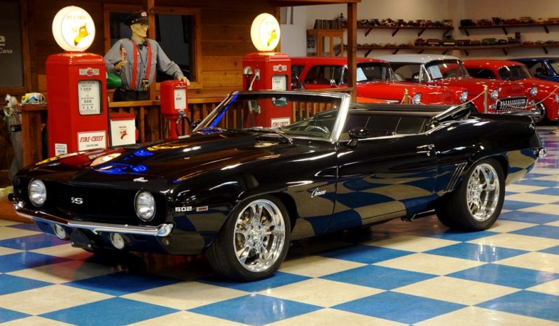 1969 Chevrolet Camaro Convertible 502 – Black full