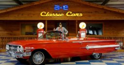 1960 Chevrolet Impala Convertible – Red / White