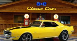 1968 Chevrolet Camaro – Yellow / Black