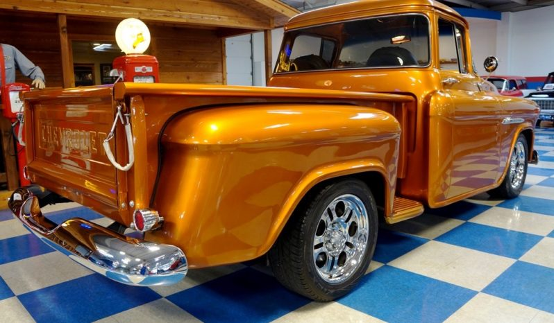 1955 Chevrolet 3100 Resto Mod LS Big Window Pickup – Lion's Mane full
