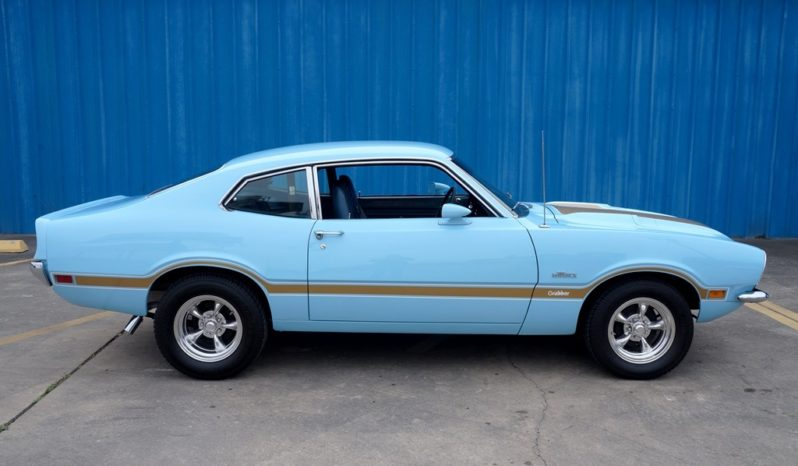 1972 Maverick Grabber – Light Blue / Gold full
