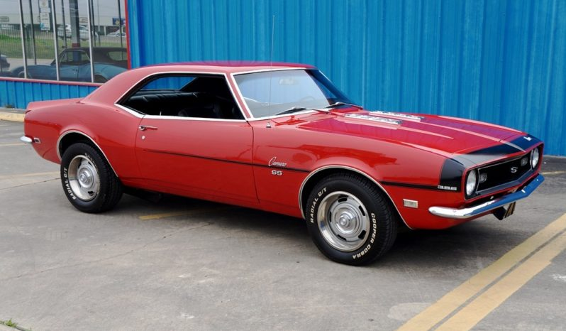 1968 Chevrolet Camaro SS396 – Red / Black full