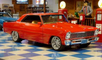 1966 Chevrolet Nova LS Resto Mod – Bright Red full