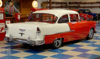 1955 Chevrolet 210 – Red / White full