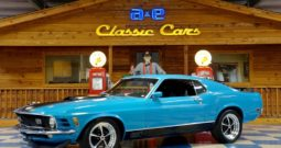 1970 Ford Mustang Mach 1 – Blue / Black