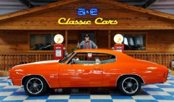 1971 Chevrolet Chevelle 454 – Orange / White full