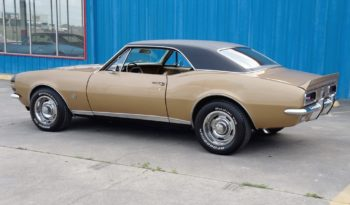 1967 Chevrolet Camaro Fuel Injected – Granada Gold / Black full