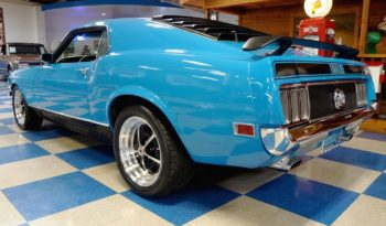 1970 Ford Mustang Mach 1 – Blue / Black full