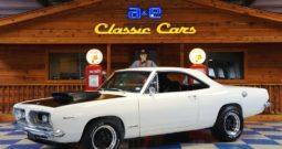 1967 Plymouth Barracuda – White / Black