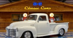 1951 Chevrolet Pickup – Olympic White