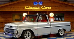 1966 Chevrolet C10 Pickup – Silver / Black