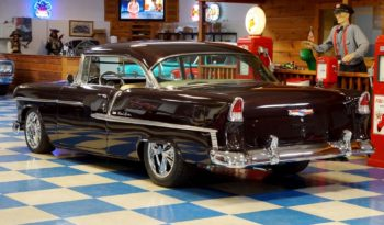 1955 Chevrolet Bel Air – Deep Black Cherry full
