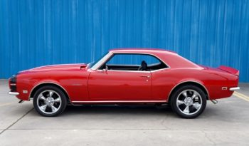 1968 Chevrolet Camaro 502 – Red / Black full