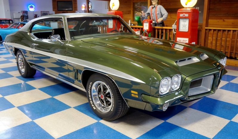 1972 Pontiac GTO – Wilderness Green / White full