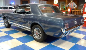 1966 Ford Mustang Coupe 5 Speed – Nightmist Blue / White full