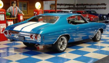 1971 Chevrolet Chevelle – Mulsanne Blue / White full