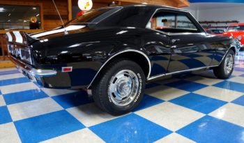 1968 Chevrolet Camaro Z/28 – Tuxedo Black / White full