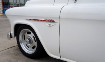 1955 Chevrolet Cameo Pickup – White / Red full