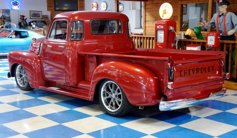 1952 Chevrolet 3100 Pickup 5 Window – Crimson Red full