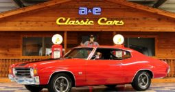 1972 Chevrolet Chevelle SS – Cranberry Red / Black