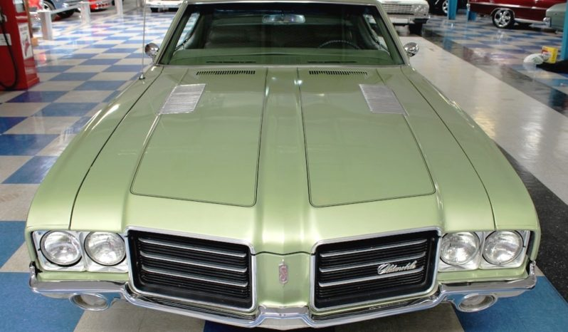 1971 Oldsmobile Cutlass S – Palm Green full