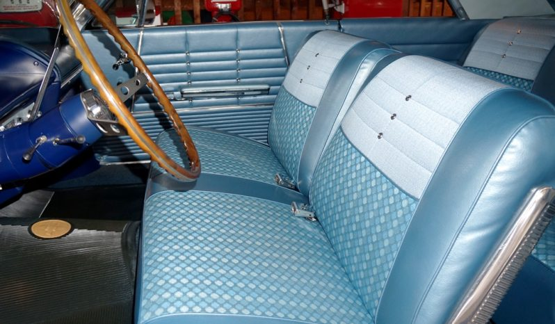 Pleasant 1964 Chevrolet Impala Silver Blue Ae Classic Cars Gmtry Best Dining Table And Chair Ideas Images Gmtryco