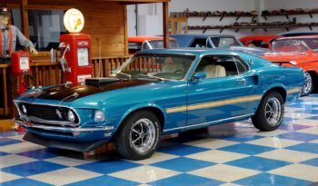1969 Ford Mustang Mach 1 – Gulfstream Aqua / Black full
