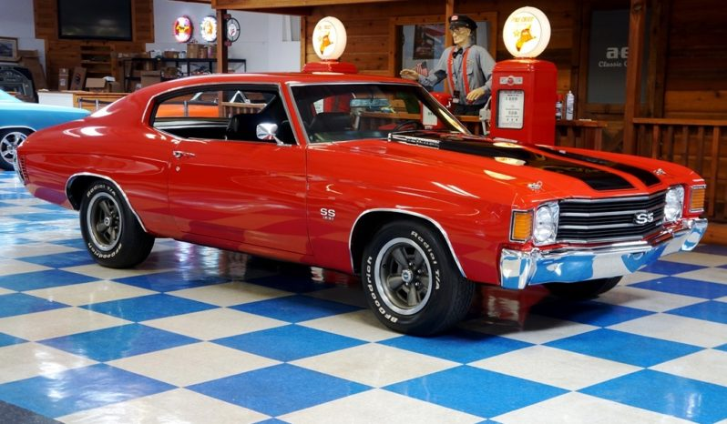 1972 Chevrolet Chevelle SS – Red / Black full
