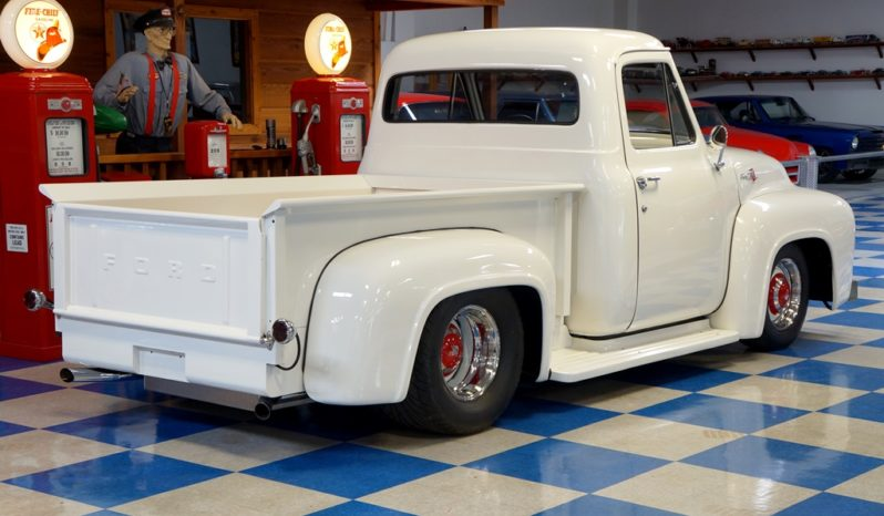 1955 Ford F100 Pickup – White full