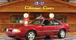 1993 Ford Mustang – Electric Red