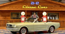 1966 Ford Mustang Convertible – Sauterne Gold / Ivory